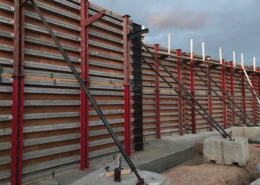Aluminum beam gangs for concrete forming construction projects available at Chicago Contractor's Supply CCS