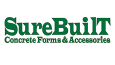 SureBuilt Concrete Forms & Accessories is a USA manufacturer of concrete accessories, form ties, concrete formwork, rebar support chairs, shoring, post shores, Stud Rail, tilt-up inserts, precast hardware and pipe braces