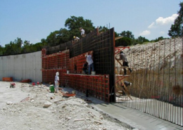 SureBuilt SurePly handset concrete forming system