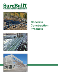 SureBuilt Concrete Construction Products Brochure. Available at CCS Chicago Contractor's Supply.