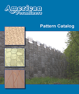 American Formliners for Architectural Concrete Patterns available at Chicago Contractor's Supply (CCS)