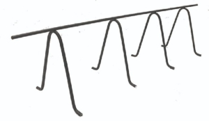 CHC Continuous High Chair for Rebar Bar Support CCS